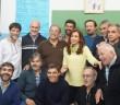 Los Curas villeros en la reunión con Cristina, hace pocos días
